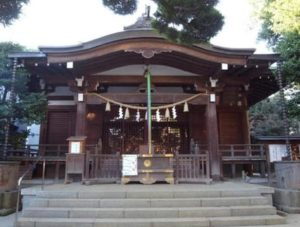 八幡神社(鳩森八幡神社)