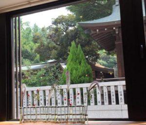 下谷神社ランチ1